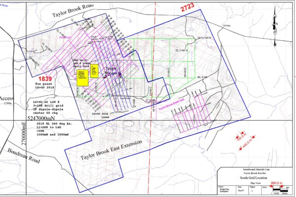 Taylor Brook Plan View - Grids 2018 1 2000